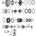Схема АКПП 4L30E