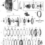 Схема АКПП 6T30\6T40\6T45