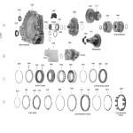 Схема АКПП 6T70\6T75