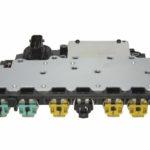 Плата соленоидов (клапан регулировки, электромагнитный с корпусом и блоком управления трансмиссией) . (Solenoid Connection Plate) 6T40H-440-420