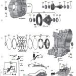 Схема АКПП CVT RE0F09A (JF010E)\RE0F010A (JF011E)