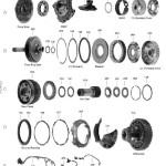 Схема АКПП TF80SC\TF81SC (AF21\AF40)