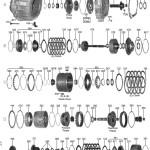 Схема АКПП ZF5HP24