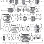 Схема АКПП ZF6HP26