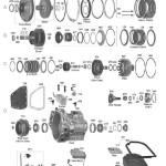 Схема АКПП VW 095\096\097\098\01M\01N\01P