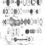 Схема АКПП A500\40RH\42RH(RE)\44RE Crysler