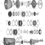 Схема АКПП RE4R01A Nissan